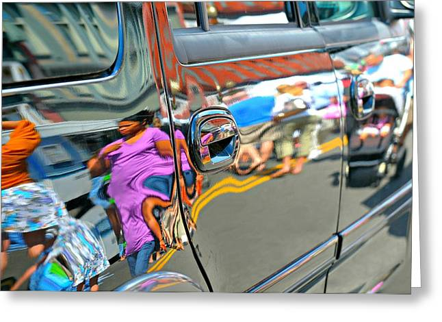 Creative People Greeting Cards - Passengers Greeting Card by Diana Angstadt