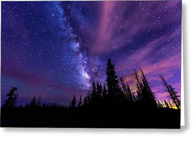 Inspiration Photographs Greeting Cards - Passing Hours Greeting Card by Chad Dutson