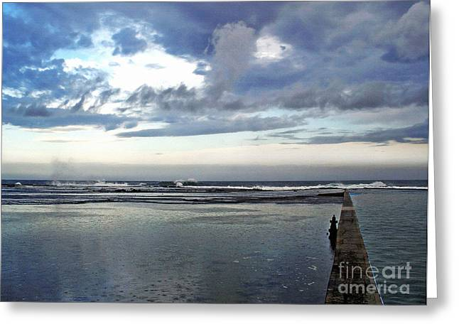 After The Storm Greeting Cards - Passing of the Storm Greeting Card by Kaye Menner
