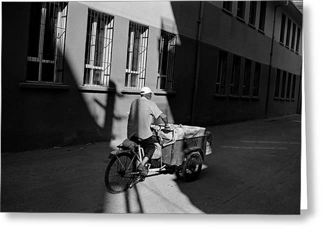Passing Through Light Greeting Card by Ilker Goksen
