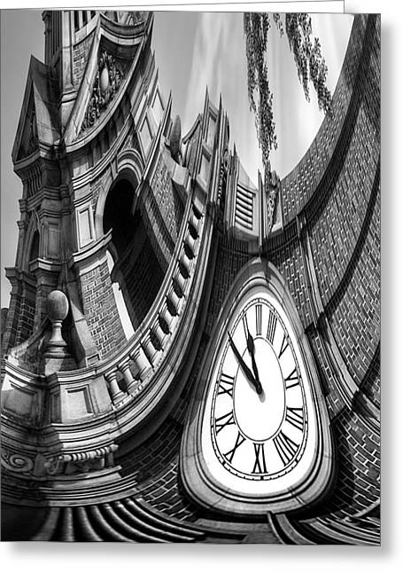 Russ Brown Greeting Cards - Passing Time Greeting Card by Russ Brown