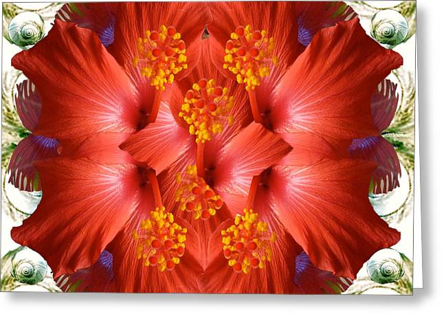 Passion Greeting Card by Alicia Kent
