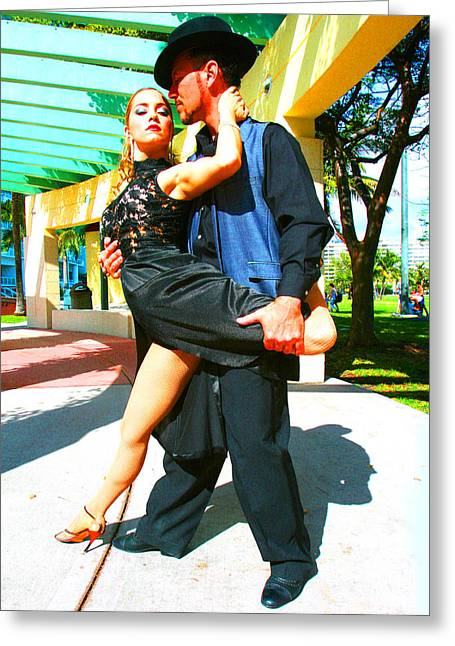 Passion In The Park Greeting Card by Doug Walker