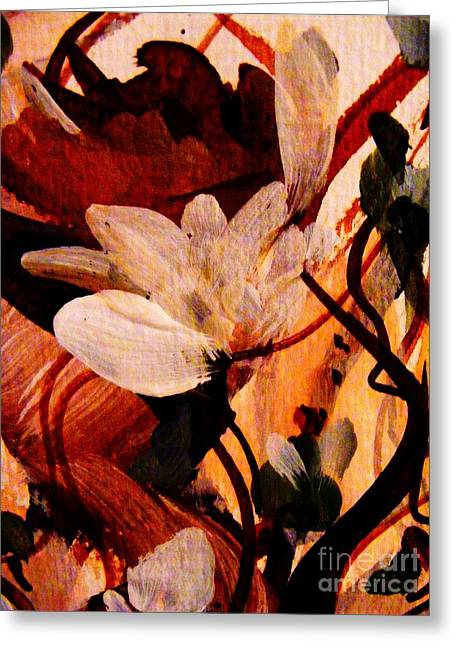 Sienna Greeting Cards - Passion Greeting Card by Nancy Kane Chapman
