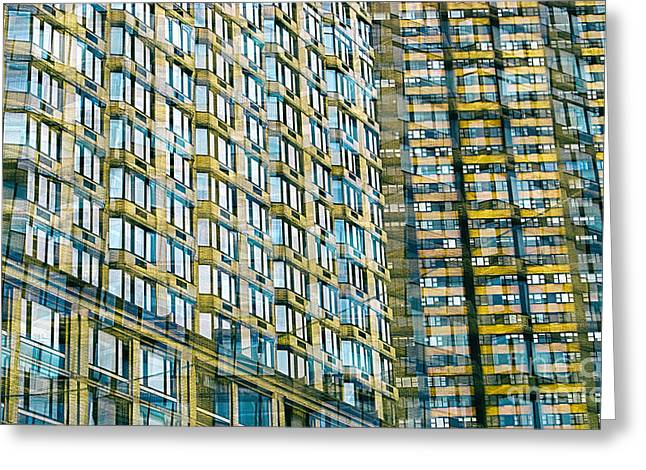 Window Of Life Greeting Cards - Passion NYC Midtown Living Greeting Card by Sabine Jacobs