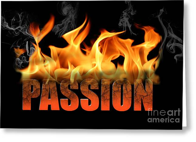 Texting Greeting Cards - Passion  Greeting Card by Valerie Garner