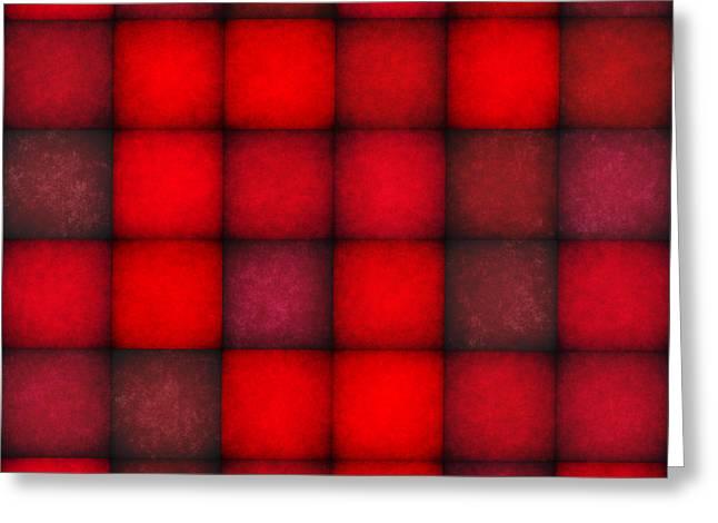 Romanovna Greeting Cards - Passionate Reds Decor Greeting Card by Georgiana Romanovna