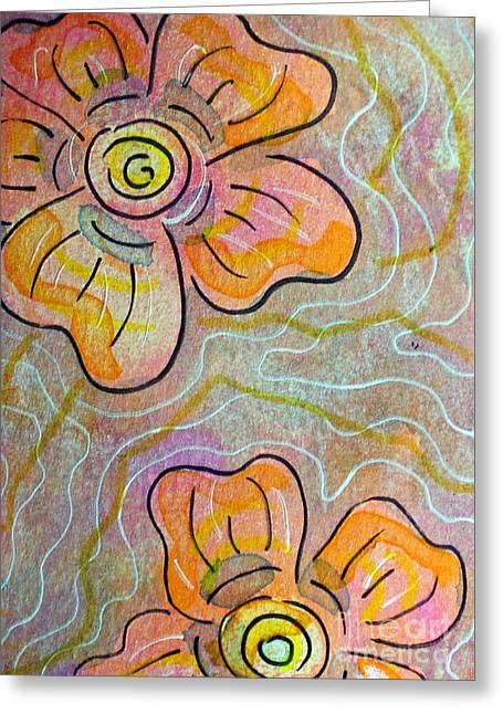 Passionflower Greeting Cards - Passionflower 5 Greeting Card by Lauri Jean Crowe