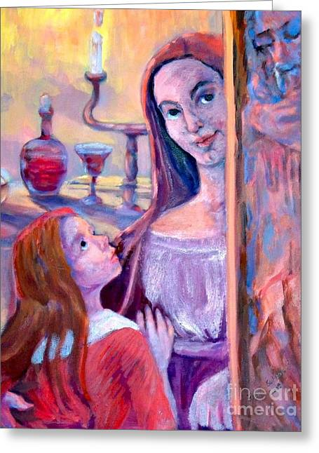 Religious Greeting Cards - Passover Angel Greeting Card by Shirl Solomon