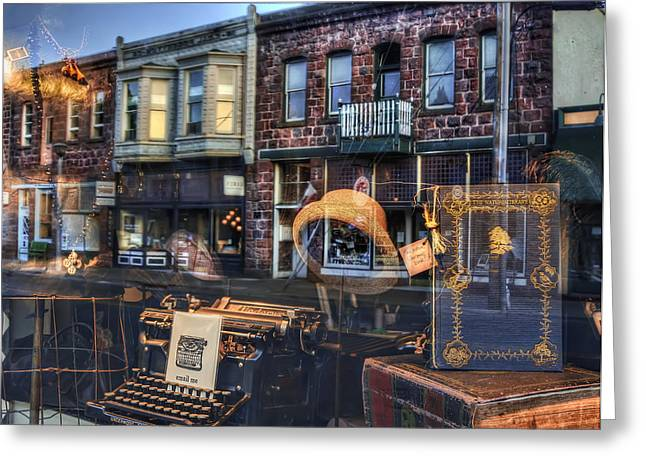 Phil Clark Photographs Greeting Cards - Past Reflections Greeting Card by Phil Clark