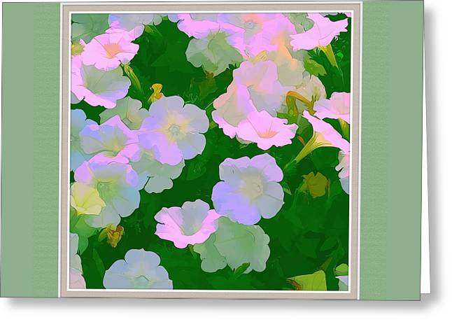 Artistic Photography Greeting Cards - Pastel Flowers II Greeting Card by Tom Prendergast