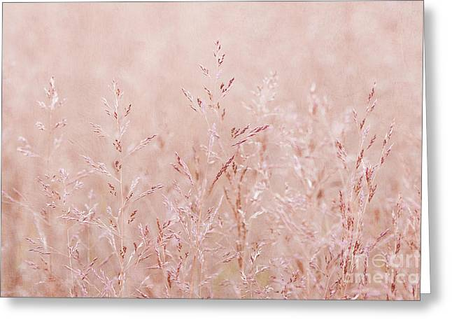 Dusky Pink Greeting Cards - Pastel Nature Greeting Card by Svetlana Sewell