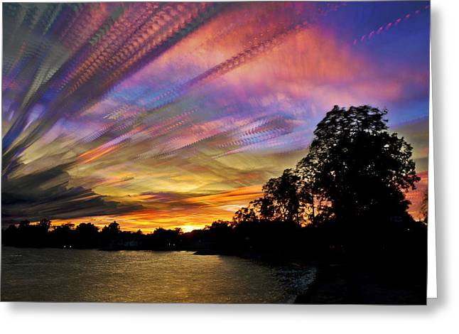 Pastel Pallet Greeting Card by Matt Molloy