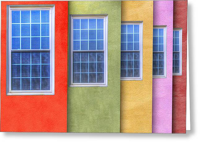 Pastel Greeting Card by Paul Wear