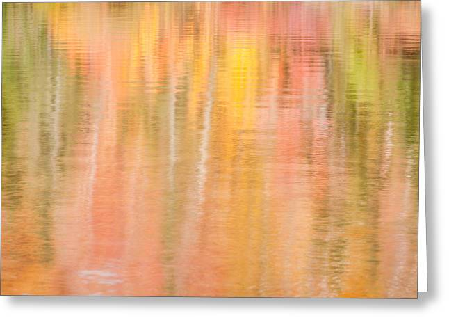 Groton Greeting Cards - Pastel Reflection Greeting Card by Michael Blanchette