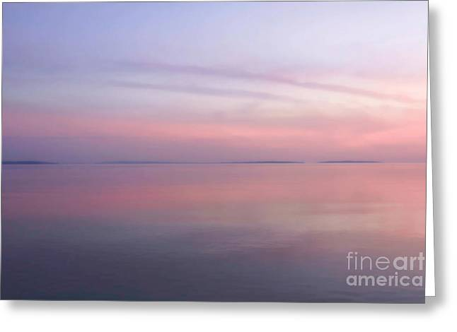 Barrington Greeting Cards - Pastel Sunset Greeting Card by Heidi Piccerelli