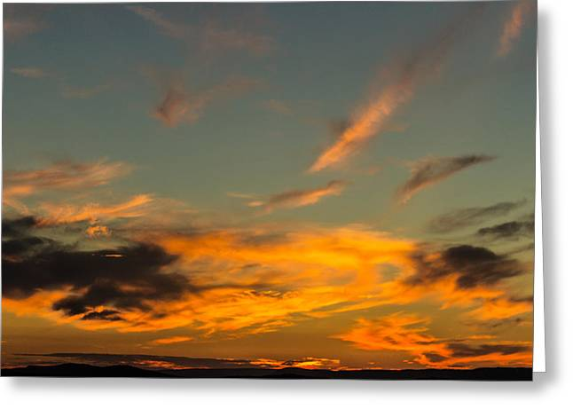 Jahred Allen Photography Greeting Cards - Pastel sunset Greeting Card by Jahred Allen