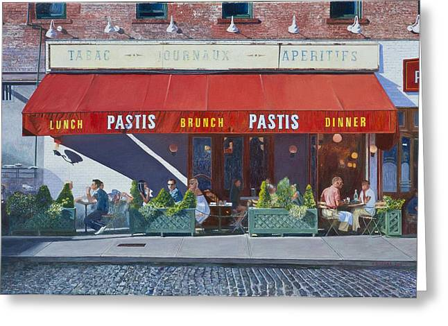 Pastis Greeting Card by Anthony Butera