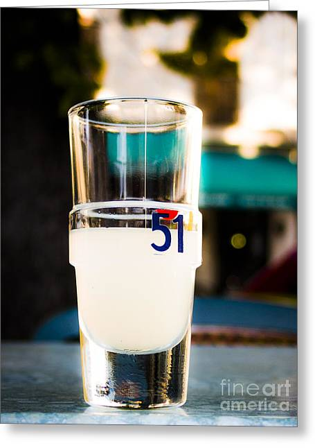 Pastis Greeting Cards - Pastis Greeting Card by Blackthorn Visuals