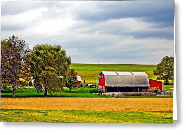 Pastoral Pennsylvania 2 Greeting Card by Steve Harrington