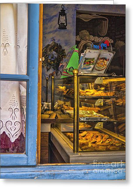 Ithaca Greeting Cards - Pastries Greeting Card by Gillian Singleton