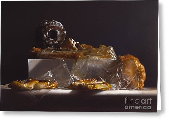 Pastry Greeting Card by Larry Preston