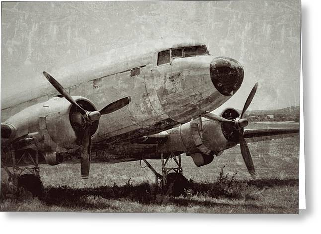 Tony Grider Greeting Cards - Pasture for Planes Greeting Card by Tony Grider