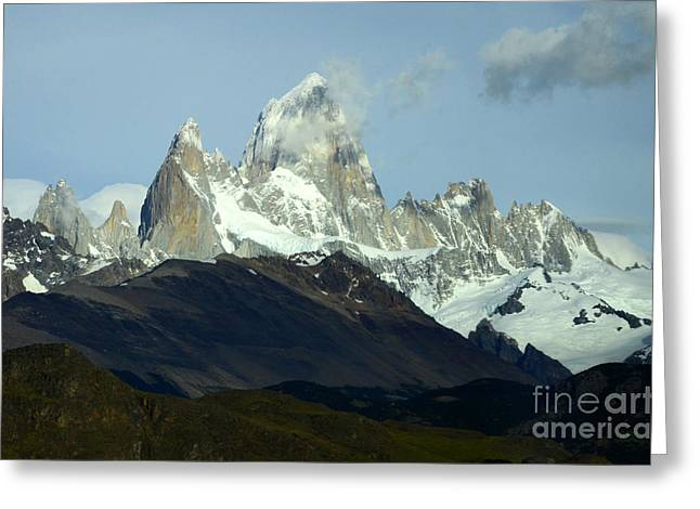 Patagonia Mount Fitz Roy 1 Greeting Card by Bob Christopher