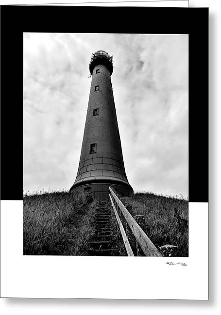 Ijmuiden Lighthouse Greeting Cards - Path 3 Greeting Card by Xoanxo Cespon