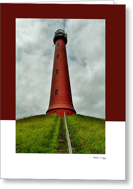 Ijmuiden Lighthouse Greeting Cards - Path 4 Greeting Card by Xoanxo Cespon