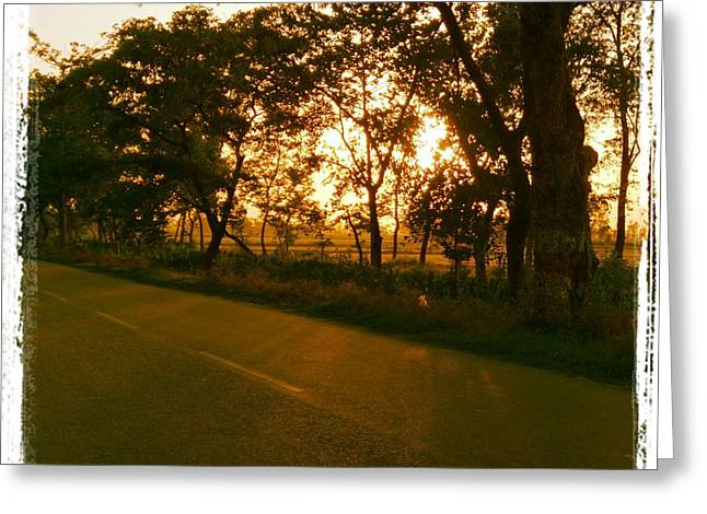 Prashant Ambastha Greeting Cards - Path Of Life Greeting Card by Prashant Ambastha