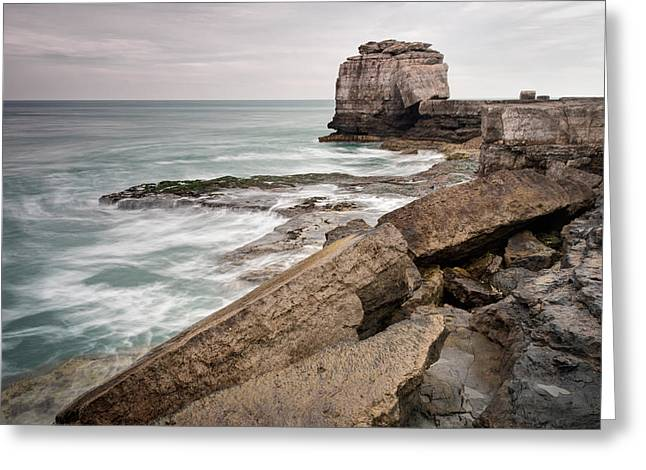 Wedding Photo Greeting Cards - Path to Pulpit Rock Greeting Card by Chris Frost