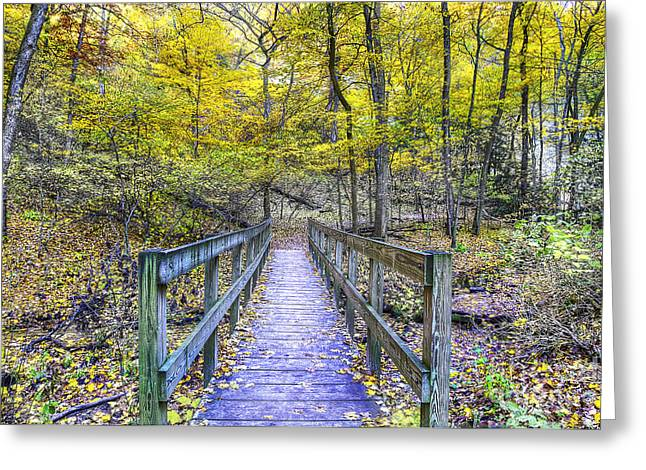 Path To Saint Louis Canyon Greeting Card by Twenty Two North Photography