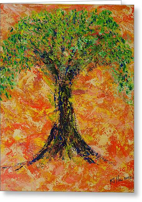 Killen Greeting Cards - Patience Greeting Card by William Killen