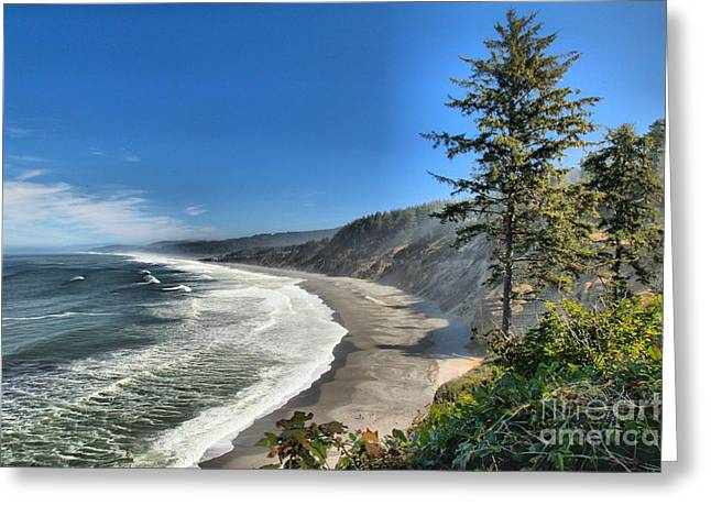 California State Park Beach Greeting Cards - Patricks Point Landscape Greeting Card by Adam Jewell