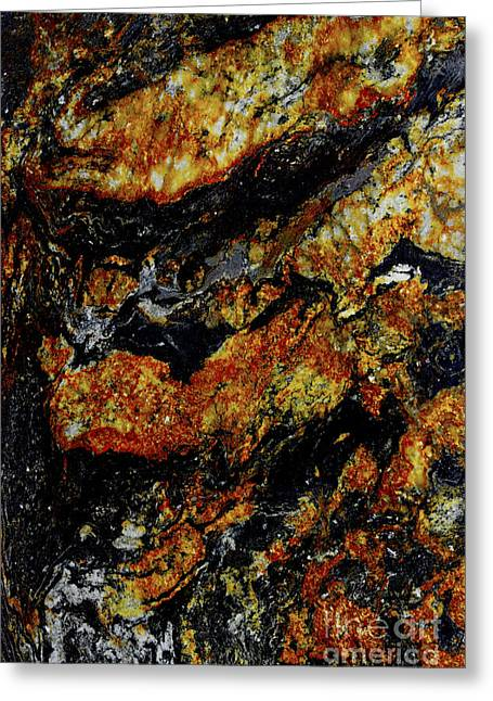 Patterns In Stone - 219 Greeting Card by Paul W Faust -  Impressions of Light
