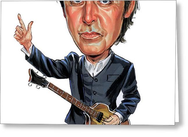 Paul McCartney Greeting Card by Art