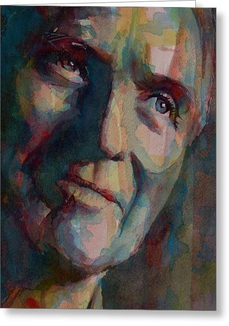 Google Greeting Cards - Paul Newman Greeting Card by Paul Lovering