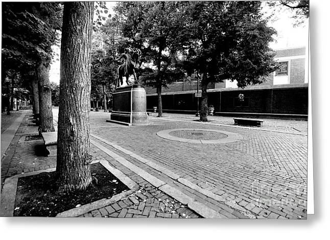 Paul Revere Greeting Cards - Paul Revere Mall Greeting Card by Catherine Reusch  Daley