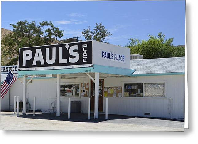 Grocery Store Greeting Cards - Pauls Place Greeting Card by Barbara Snyder
