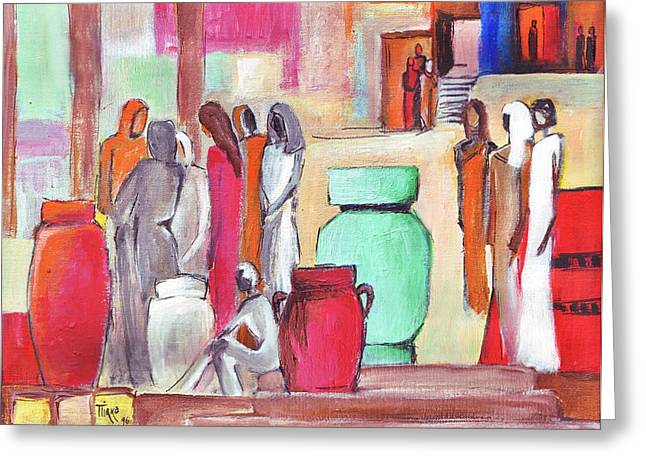 Pause Greeting Cards - Pause Douceur Greeting Card by Mirko Gallery