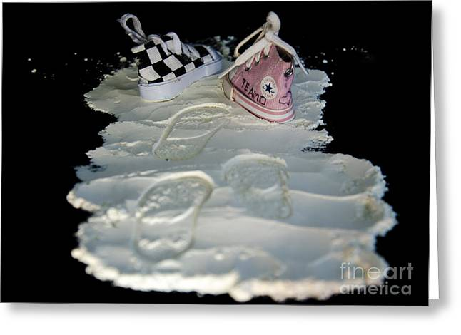 Sell Art Online Greeting Cards - Pave the way Greeting Card by Victoria Herrera