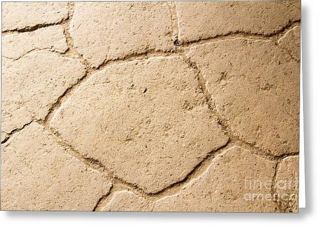 Early American Dwellings Greeting Cards - Paving Detail Greeting Card by Nicholas Blackwell