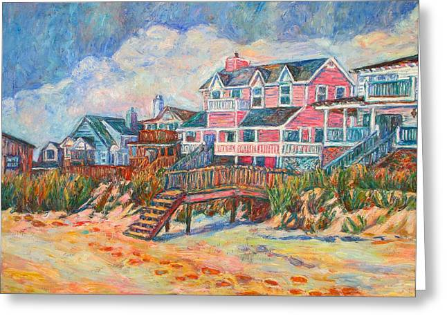 Impressionist Greeting Cards - Pawleys Island Greeting Card by Kendall Kessler