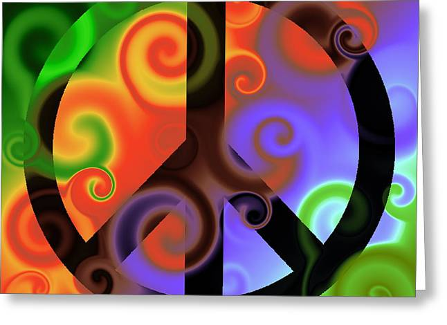 Subtle Colors Greeting Cards - Pax Six Greeting Card by Ron Hedges