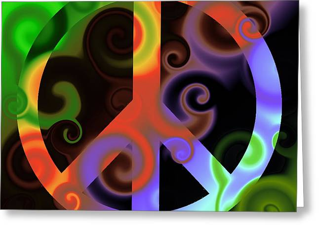 Subtle Colors Greeting Cards - Pax Undecim Greeting Card by Ron Hedges