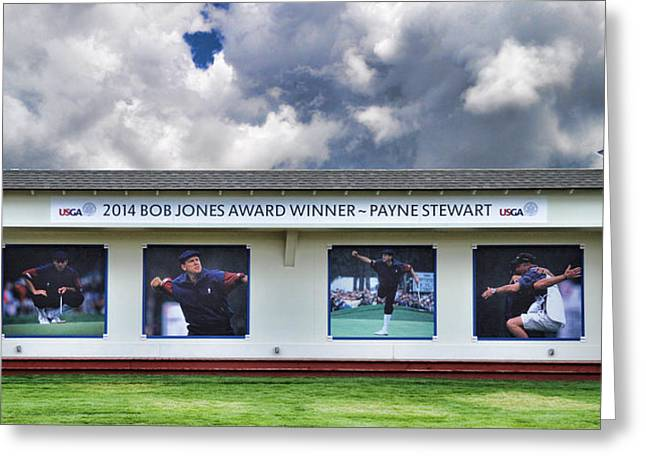 Gnarly Greeting Cards - Payne Stewart - 2014 Bob Jones Award Winner Greeting Card by Paulette B Wright