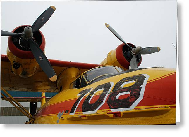 Pby Catalina Greeting Cards - PBY Canso 708 Greeting Card by Mark Alan Perry