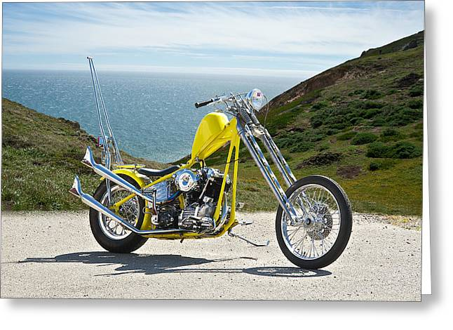 Pch Greeting Cards - PCH Chopper Greeting Card by Dave Koontz