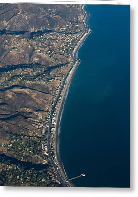 Hwy 1 Greeting Cards - Pch Greeting Card by John Daly